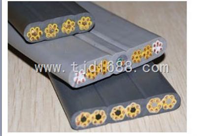 YFFB特柔软型扁电缆 YFFB扁电缆 YFFB塑料扁电缆厂家
