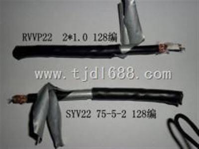 SYV75矿用阻燃视频线 优质的MSYV75电缆