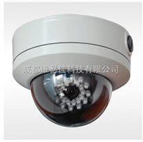 720P COMS网络高清防爆红外半球摄像机