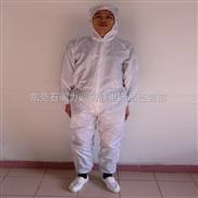 供应防静电连体服 防静电衣服 防静电大褂。