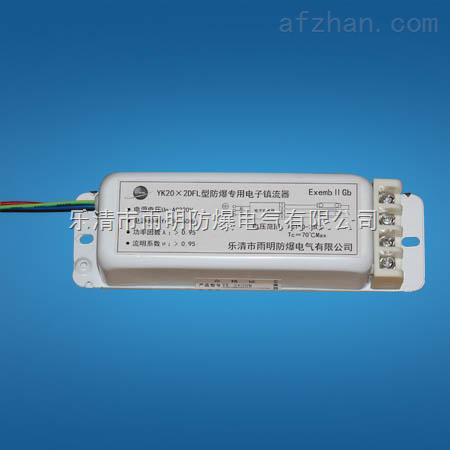 yk20-2dfl-20w一拖二防爆电子镇流器,yk20-2dfl防爆电子镇流器