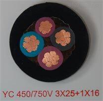 YCW橡套软电缆工艺3x2.5mm2重型通用电缆
