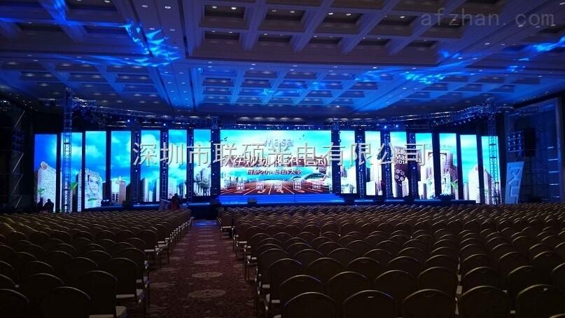 p3led大屏幕效果图 舞台背景led高清显示屏设计报价施工方案图片