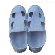 深蓝色帆布防静电四眼鞋