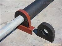 水管木托防水处理,管道垫块