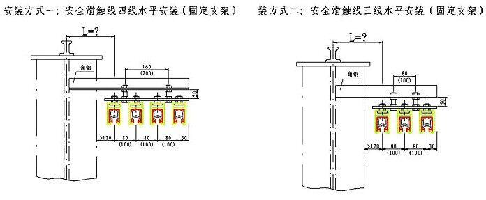 jdcⅡ-1800a滑触线|重三型滑触线