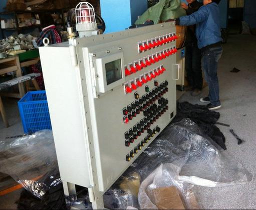 两地控制电动机接线图带指示灯