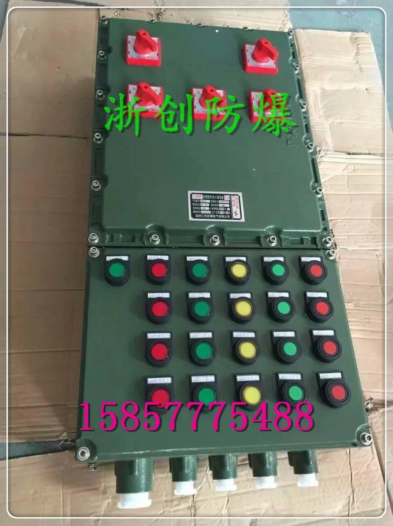 bxmd铸铝防爆照明动力配电箱